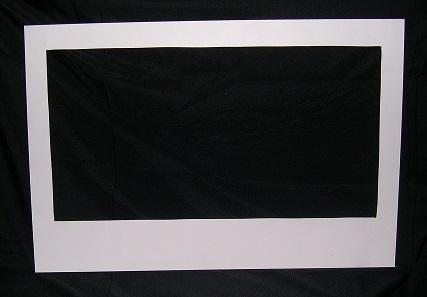 Polaroid Photo Frame White Wooden Landscape